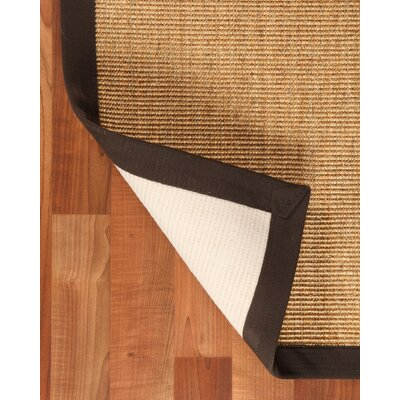 Sisal Montreal Beige Area Rug Rug Size: Rectangle 8 x 10