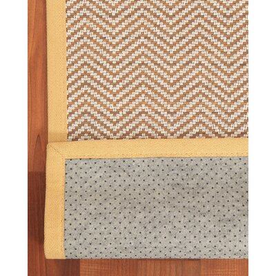 Salina Bamboo Brown Area Rug Rug Size: Rectangle 6 x 9