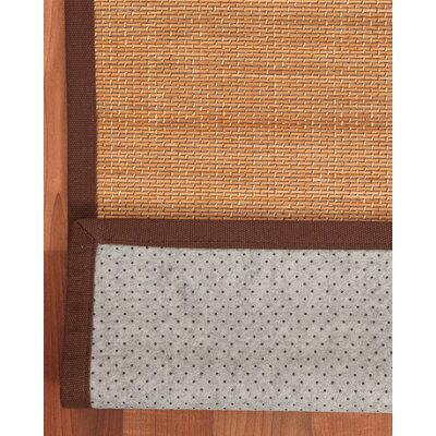 Serrano Bamboo Brown Area Rug Rug Size: Rectangle 6 x 9