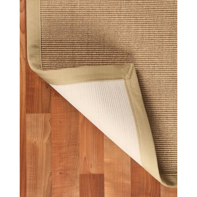Sisal Temperley Beige Area Rug Rug Size: Rectangle 9 x 12