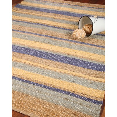 Casablanca 100% Natural Jute Hand Woven Area Rug Rug Size: Rectangle 6 x 9