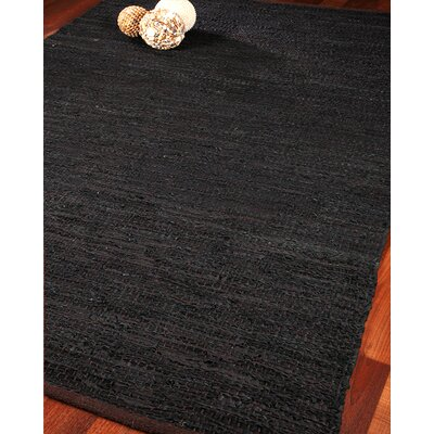 Atlanta Leather Hand Loomed Area Rug Rug Size: 4 x 6
