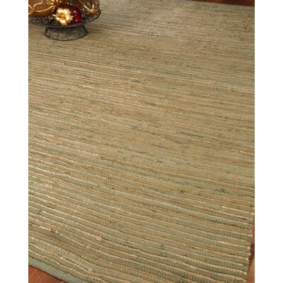 Canyon Jute Cotton All Natural Fibers Hand Loomed Area Rug Rug Size: 5 x 8