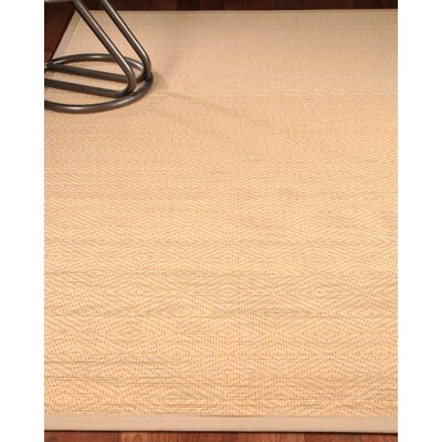 Sentiment Bamboo Beige Area Rug Rug Size: Rectangle 7 x 10
