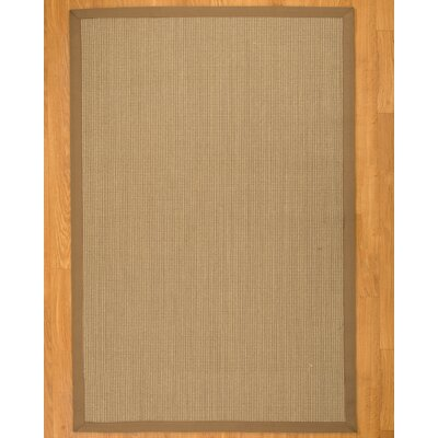 Genesis Tan Area Rug Rug Size: Rectangle 4 x 6