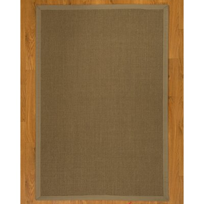 Geneva Wide Canvas Border Area Rug Rug Size: Rectangle 5 x 8