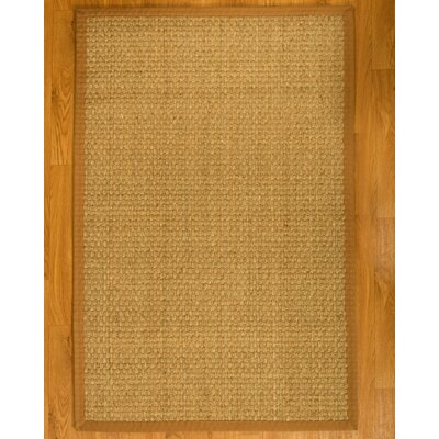 Lancaster Handcrafted Honey Area Rug Rug Size: Rectangle 9 x 12