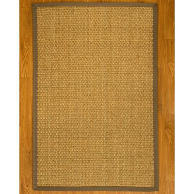 Lancaster Handcrafted Gray Area Rug Rug Size: Rectangle 4 x 6