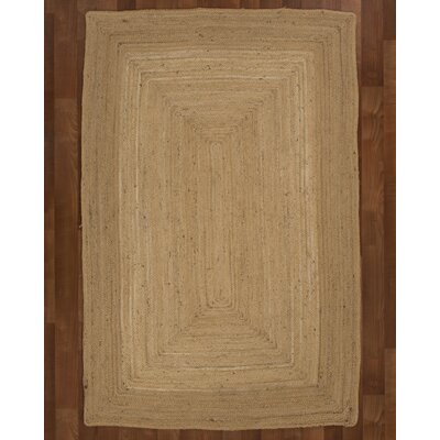 Cannes Jute Natural Area Rug Rug Size: 4 x 6