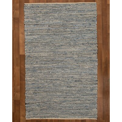 Cayman Hand-Loomed Blue Area Rug Rug Size: Rectangle 5 x 8