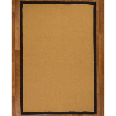 Arcadia Jute Natural Area Rug Rug Size: Rectangle 9 x 12