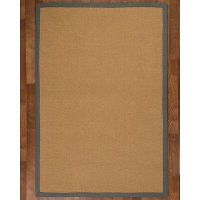 Arcadia Jute Natural Area Rug Rug Size: Rectangle 6 x 9