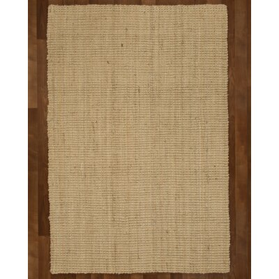 Clinton Jute Fibre Natural Area Rug Rug Size: Rectangle 4 x 6
