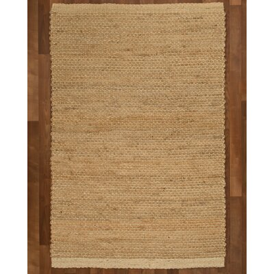 Colombo Jute Fibre Natural Area Rug Rug Size: Rectangle 4 x 6