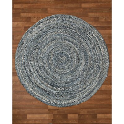 Brasilia Cotton Hand Woven Natural Area Rug Rug Size: Round 8