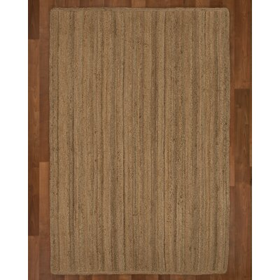 Chicago Jute Natural Area Rug Rug Size: Rectangle 4 x 6