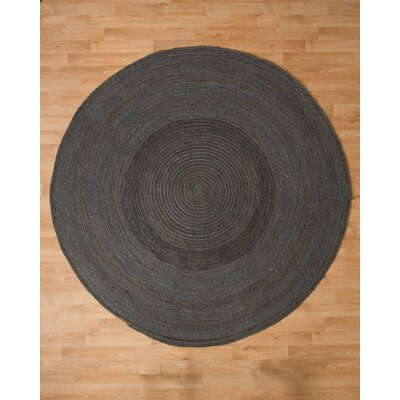 Bremen Jute Hand Woven Natural Area Rug Rug Size: Round 6