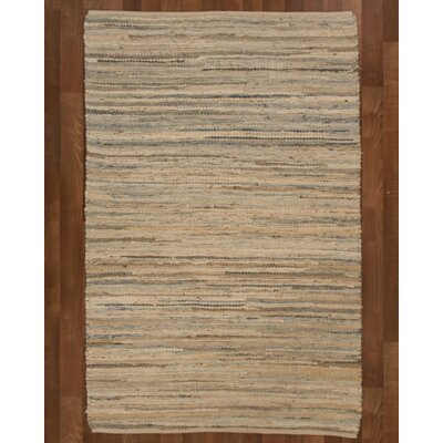 Cascade Cotton Natural Area Rug Rug Size: Rectangle 6 x 9