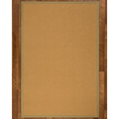 Galena Sisal Natural Area Rug Rug Size: Rectangle 4 x 6