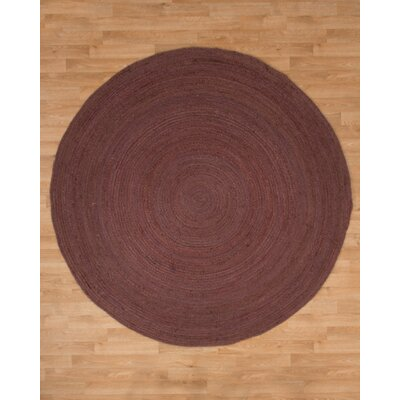 Beijing Jute Hand Woven Natural Area Rug Rug Size: Round 8