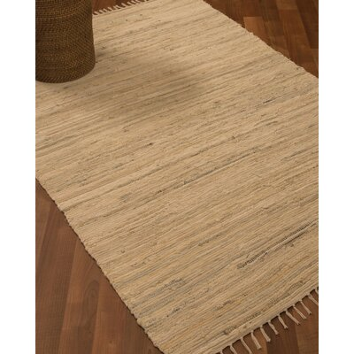 Mystic Hand-Woven Beige Area Rug Rug Size: Rectangle 8 x 10