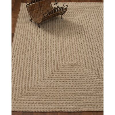 Athen Hand-Loomed Beige Area Rug Rug Size: Rectangle 6 x 9