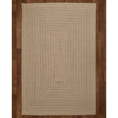 Athen Hand-Loomed Beige Area Rug Rug Size: Rectangle 5 x 8