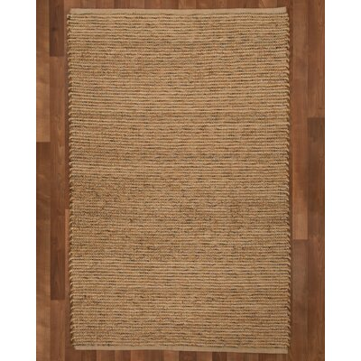 Alexander Hand-Woven Brown Area Rug Rug Size: Rectangle 9 x 12