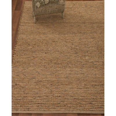 Alexander Hand-Woven Brown Area Rug Rug Size: Rectangle 4 x 6