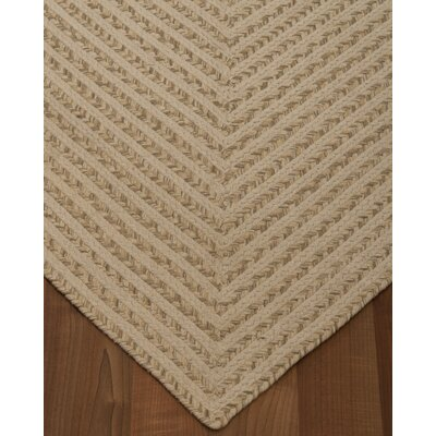 Athen Hand-Loomed Beige Area Rug Rug Size: Rectangle 4 x 6