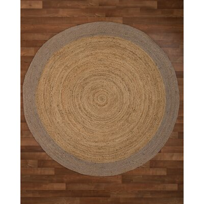 Bogota Handmade Beige Area Rug Rug Size: Round 6