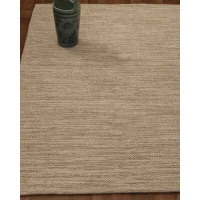 Melbourne Hand-Woven Beige Area Rug Rug Size: Rectangle 4 x 6
