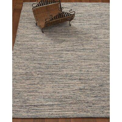 Millstone Hand-Woven Grey Area Rug Rug Size: 5 x 8
