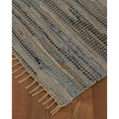 Monaco Hand Loomed Gray Area Rug Rug Size: Rectangle 8 x 10