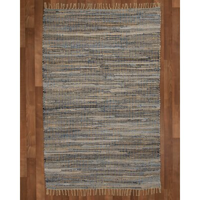 Monaco Hand Loomed Gray Area Rug Rug Size: Rectangle 9 x 12