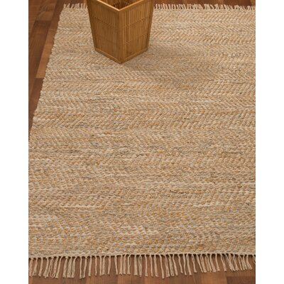 Moreno Hand-Woven Beige Area Rug Rug Size: Rectangle 9 x 12