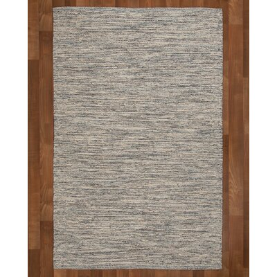 Millstone Hand-Woven Grey Area Rug Rug Size: Rectangle 4 x 6