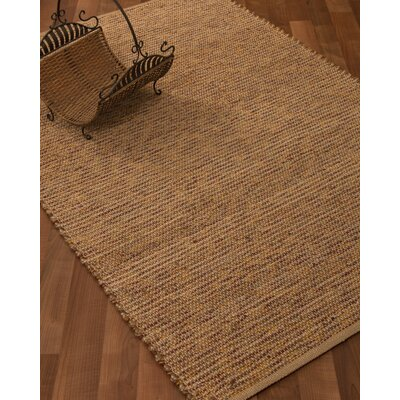 Amsterdam Hand-Woven Brown Area Rug Rug Size: Rectangle 6 x 9