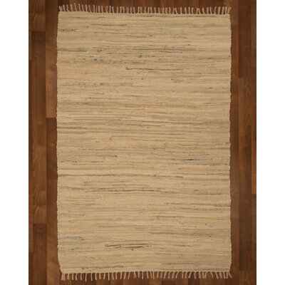 Mystic Hand-Woven Beige Area Rug Rug Size: Rectangle 9 x 12