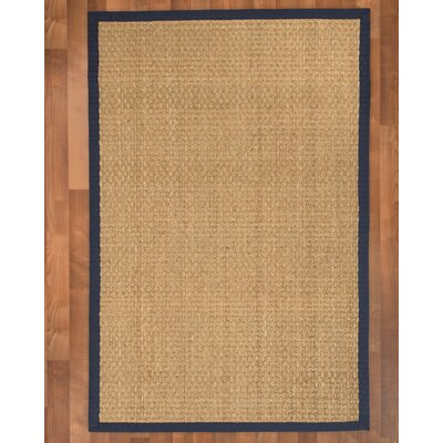 Maritime Handmade Navy Blue Area Rug Rug Size: Rectangle 9 x 12