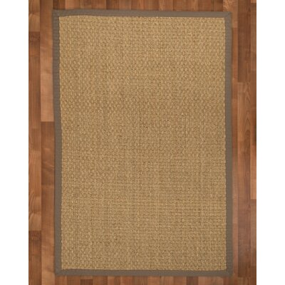 Lancaster Handmade Taupe Area Rug Rug Size: Rectangle 4 x 6