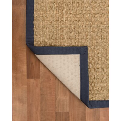 Lancaster Handmade Navy Area Rug Rug Size: Rectangle 9 x 12