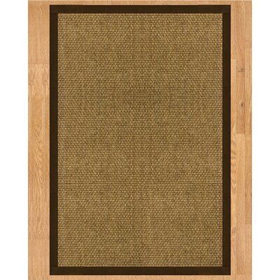 Karis Hand Crafted Fudge Area Rug Rug Size: Rectangle 5 x 8