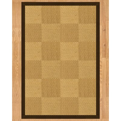 Oberon Hand Crafted Fudge Area Rug Rug Size: 5 x 8