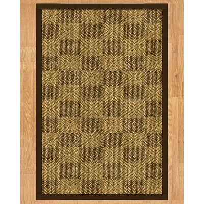 Oslo Fudge Hand-Woven Brown Area Rug Rug Size: Rectangle 9 x 12
