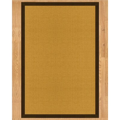 Davlin Hand Crafted Fudge Area Rug Rug Size: 6 x 9