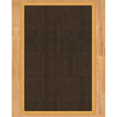 Vida Hand Crafted Natural Area Rug Rug Size: 5 x 8
