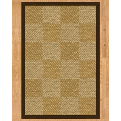 Nirvana Hand Crafted Fudge Area Rug Rug Size: Rectangle 4 x 6