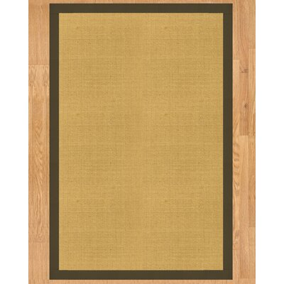 Barbados Hand Crafted Malt Area Rug Rug Size: Rectangle 9 x 12
