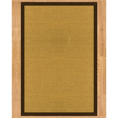 Niagara Fudge Hand-Woven Tan Area Rug Rug Size: Rectangle 6 x 9